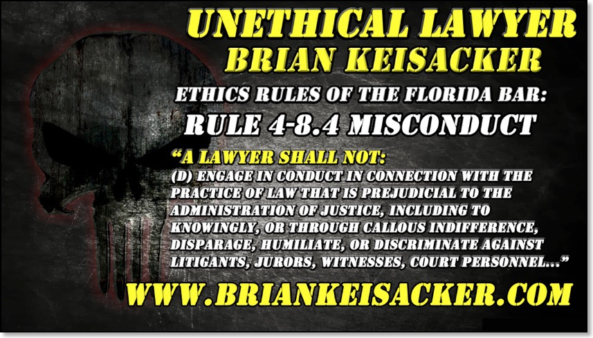 BRIAN KEISACKER UNETHICAL 102